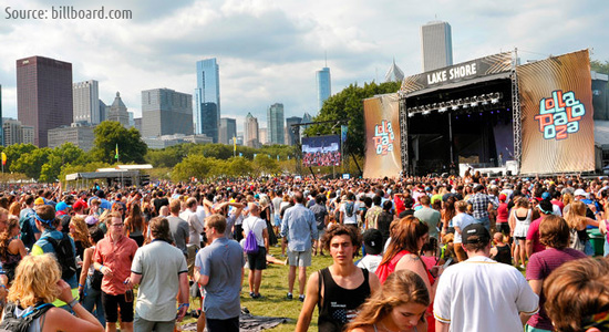 Lollapalooza event